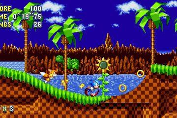 Sonic Mania - Courtesy of Sega Co.